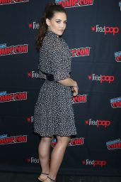 """Danielle Campbell - """"Tell Me a Story"""" Press Room at NYCC 10/03/2019"""