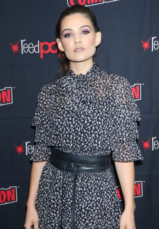 "Danielle Campbell - ""Tell Me a Story"" Press Room at NYCC 10/03/2019"