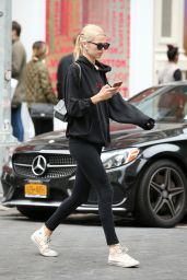 Daphne Groeneveld in Tights - New York City 10/06/2019