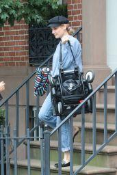 Diane Kruger - Leaves her home in New York 10/06/2019