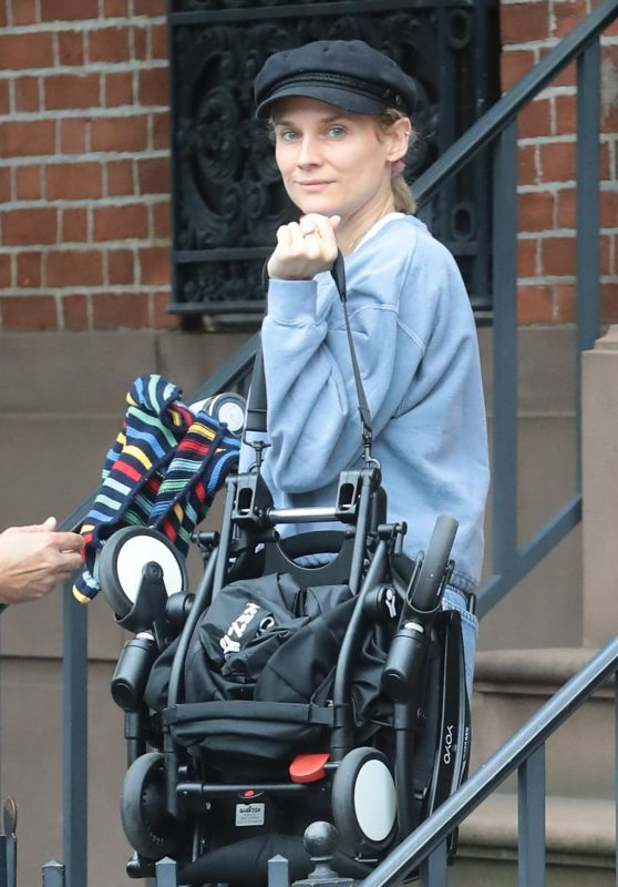 Diane Kruger - Leaves her home in New York 10/06/2019