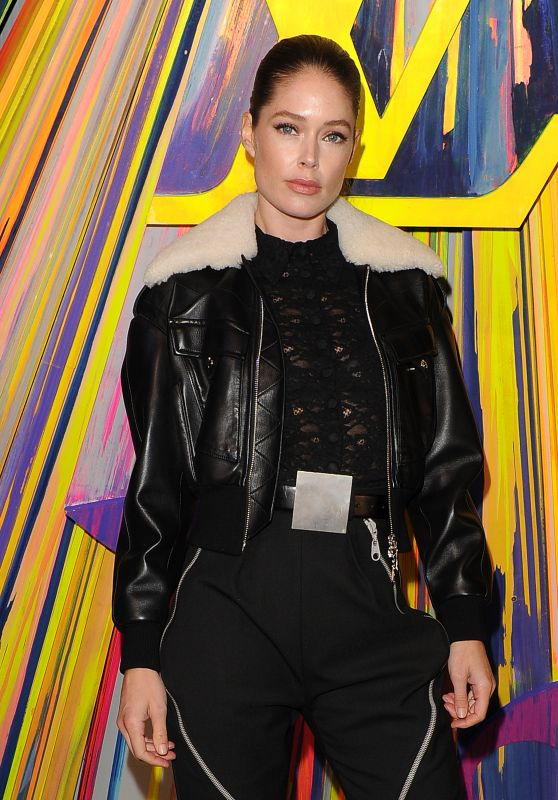 Doutzen Kroes - Flagship Louis Vuitton Store Grand Reopening in London