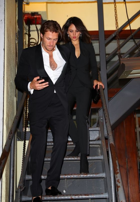 Eiza Gonzalez and Luke Bracey - New York, September 2019