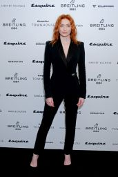 Eleanor Tomlinson - Esquire Townhouse With Breitling Launch in London 10/16/2019
