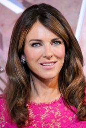 Elizabeth Hurley - Lighting Ceremony in Honor of Estee Lauder Company