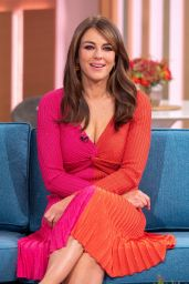Elizabeth Hurley - This Morning TV Show in London 10/07/2019