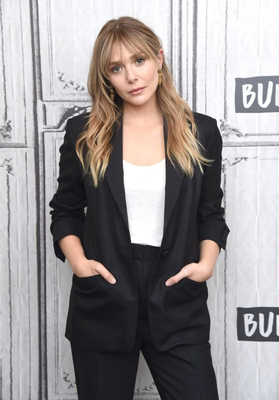 Elizabeth Olsen - BUILD Studio in New York City 10/08/2019