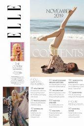 Elle Fanning – ELLE Magazine Australia November 2019 Issue