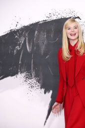 """Elle Fanning - """"Maleficent: Mistress of Evil"""" Photocall in London"""