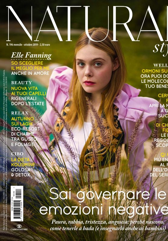Elle Fanning - Natural Style Italy October 2019 Issue