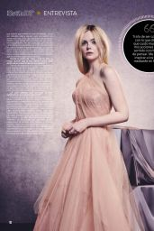 Elle Fanning – Semanario Estilo Magazine October 2019 Issue