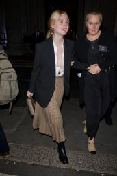 Elle Fanning - The Academy Of Motion Pictures Arts And Sciences 2019 New Members Party in London