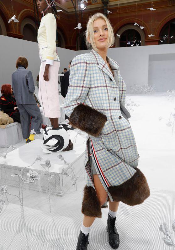 Elsa Hosk - Thom Browne Show at Paris Fashion Week 09/29/2019