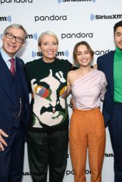 """Emilia Clarke - SiriusXM Town Hall With the Cast of """"Last Christmas"""" in NYC"""