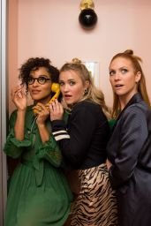 "Emily Osment, Brittany Snow and Megalyn Echikunwoke - ""Almost Family"" Screening in Manhattan"