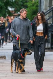 Emily Ratajkowski and Sebastian Bear-McClard - Out in Manhattan 10/06/2019