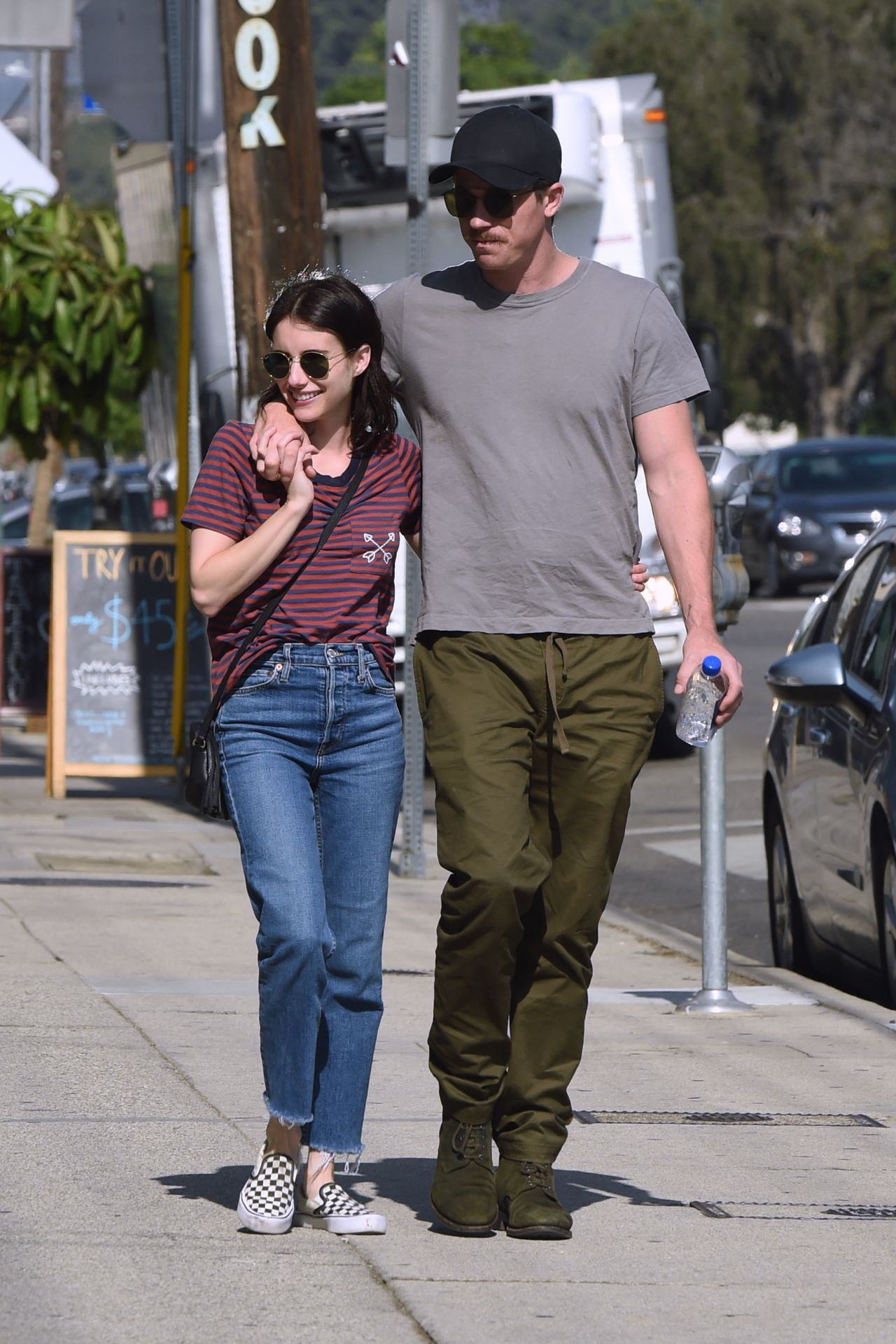 Emma Roberts and Boyfriend Garrett Hedlund - Out in Los ...