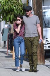 Emma Roberts and Boyfriend Garrett Hedlund - Out in Los Angeles 10/11/2019