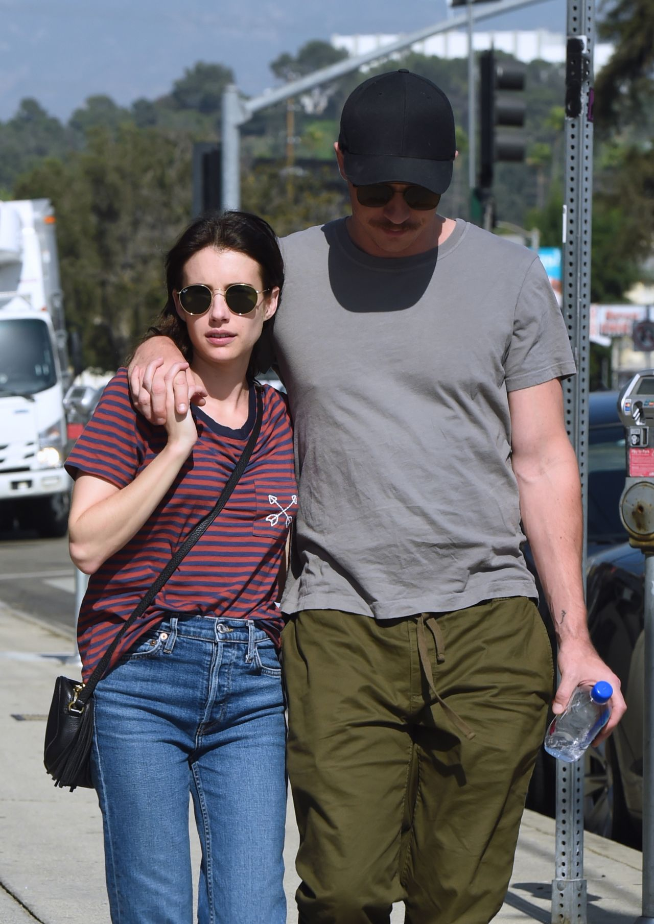 Emma Roberts and Boyfriend Garrett Hedlund - Out in Los ...