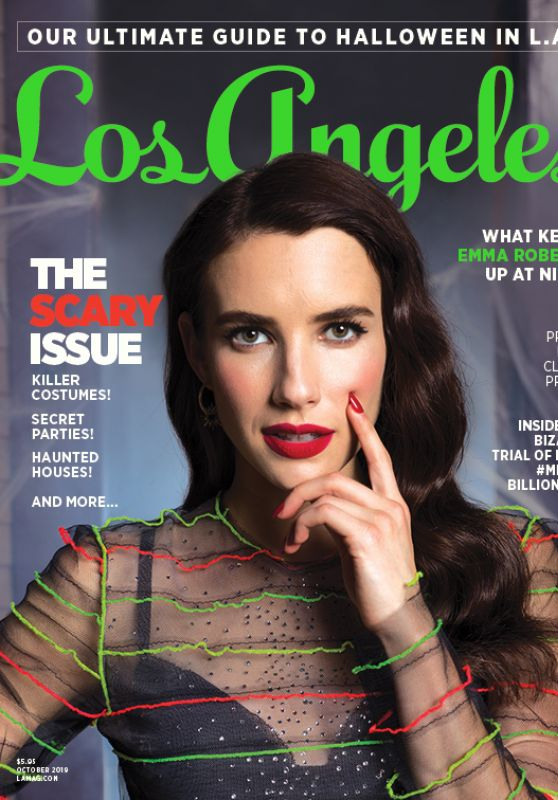 Emma Roberts - Los Angeles Magazine October 2019 Cover and Photos