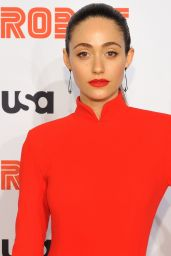 "Emmy Rossum - ""Mr. Robot"" Season 4 Premiere in New York"