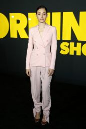 "Emmy Rossum - ""The Morning Show"" Premiere in NYC"