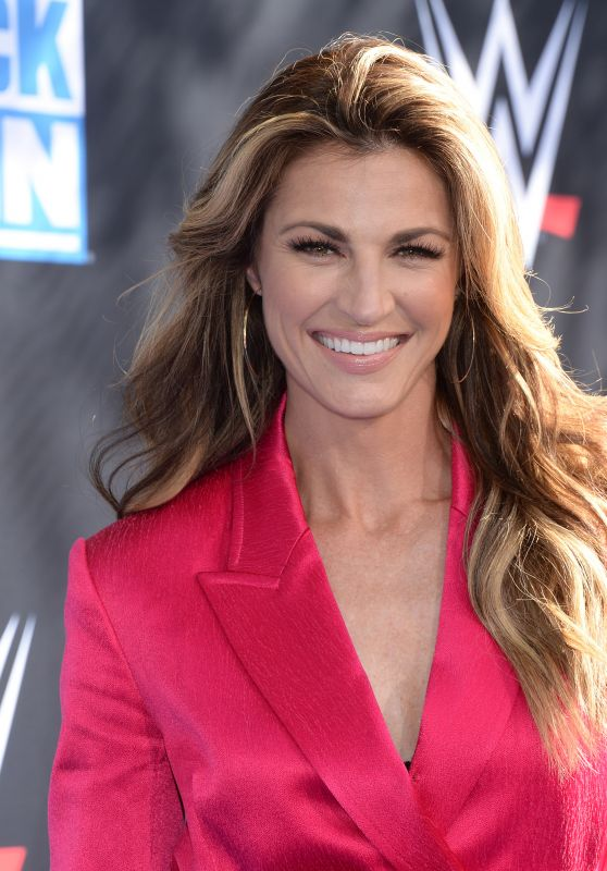 Erin Andrews – WWE 20th Anniversary Celebration in LA