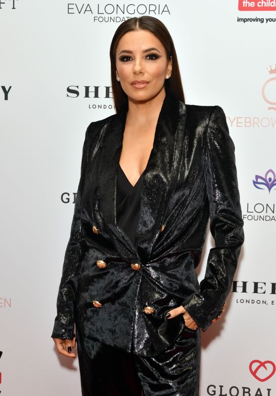 Eva Longoria – The Global Gift Gala in London 10/17/2019