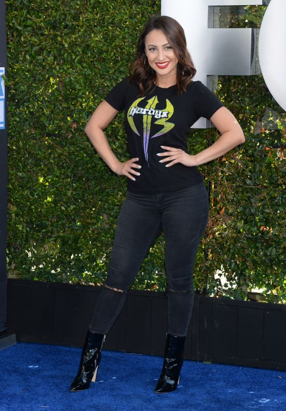 Francia Raisa – WWE 20th Anniversary Celebration in LA