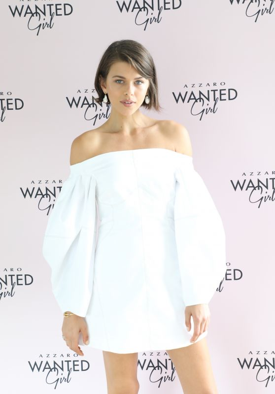 Georgia Fowler - Face of Azzaro WANTED Girl, Celebrated the Australian Launch of the Fragrance 10/11/2019