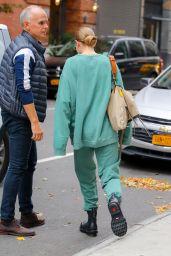 Gigi Hadid in a Sweatsuit - NYC 10/17/2019