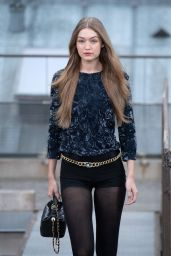 Gigi Hadid Walks Chanel Show in Paris 10/01/2019