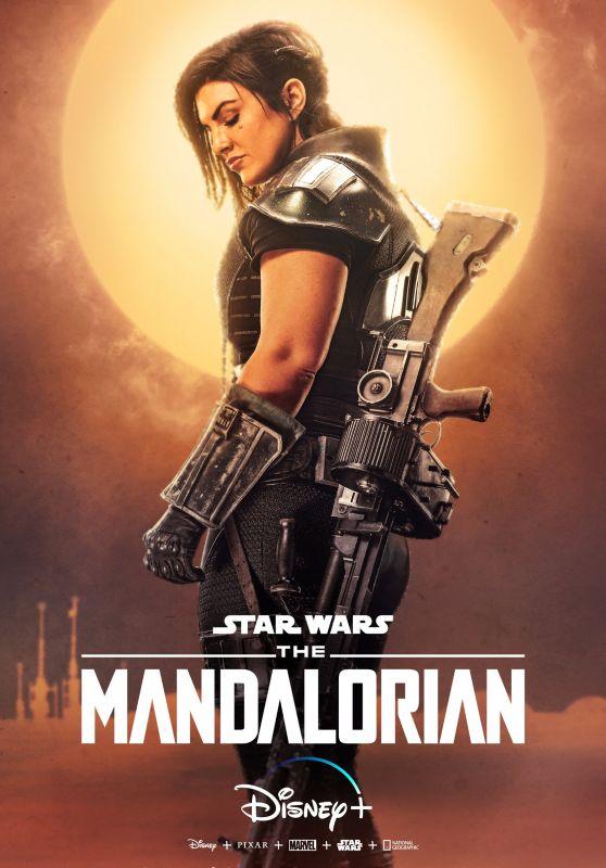 Gina Carano - The Mandalorian (2019) Poster