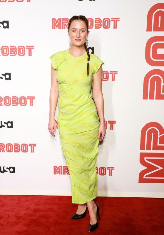 """Grace Gummer – """"Mr. Robot"""" Season 4 Premiere in New York"""