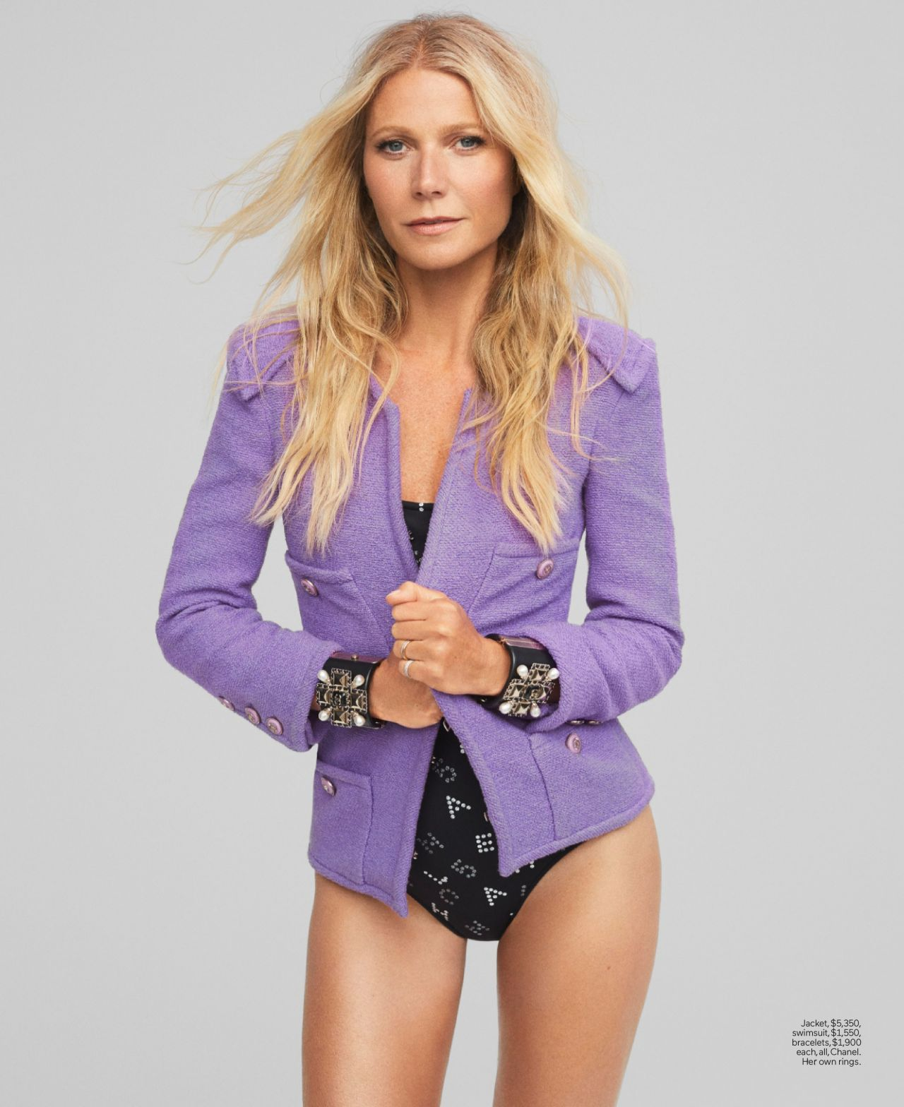 Gwyneth Paltrow super sexy in Elle magazine