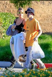 Hailey Rhode Bieber and Justin Bieber - Leaving a Park in Beverly Hills 10/03/2019