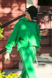 Hailey Rhode Bieber - Arriving at a Recording Studio in Los Angeles 10/08/2019