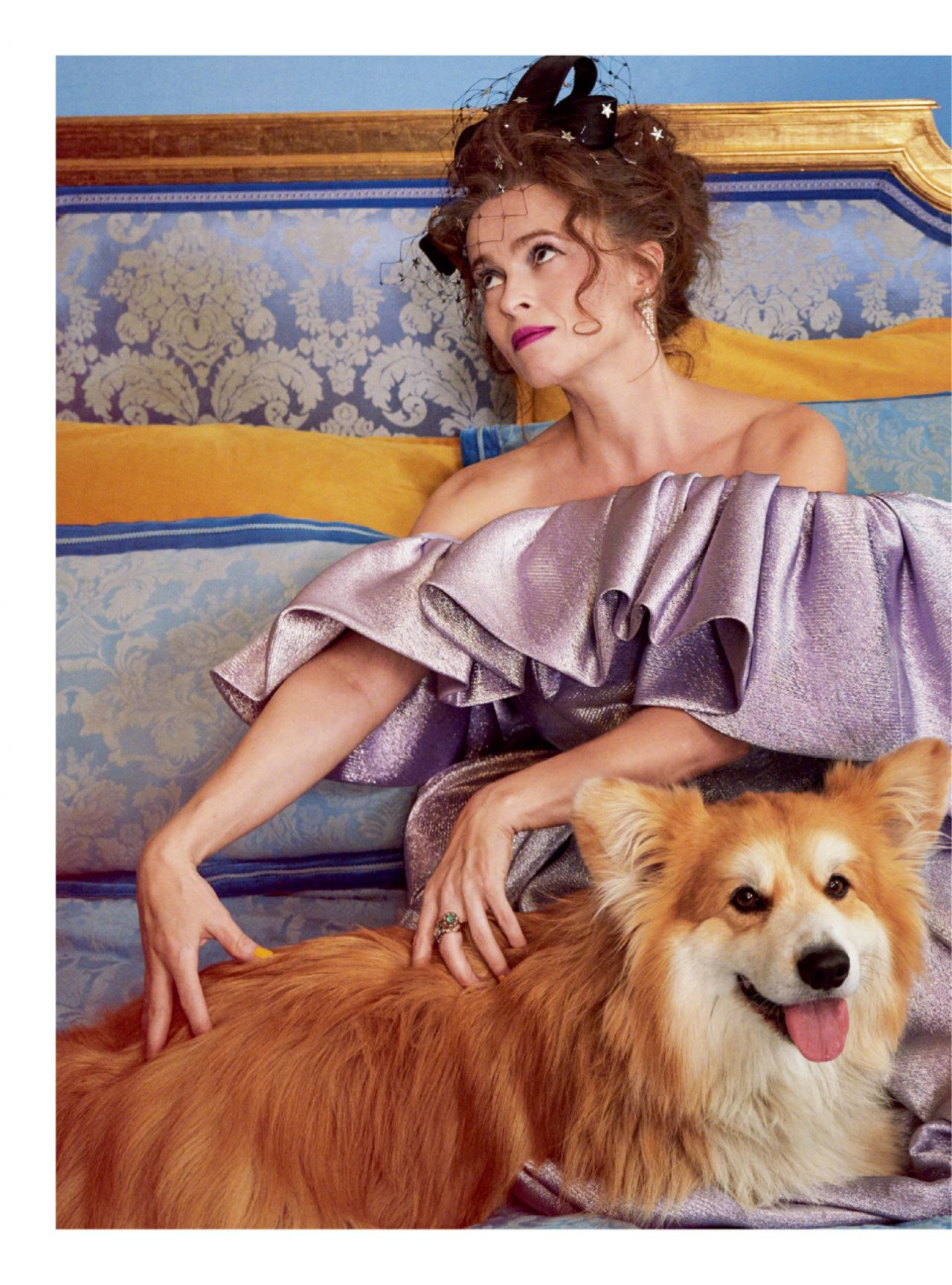 Helena Bonham Carter Harper S Bazaar December 2019 Issue