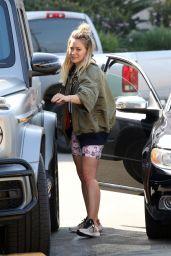 Hilary Duff at Joan