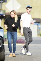 Hilary Duff - Out in Studio City 10/14/2019