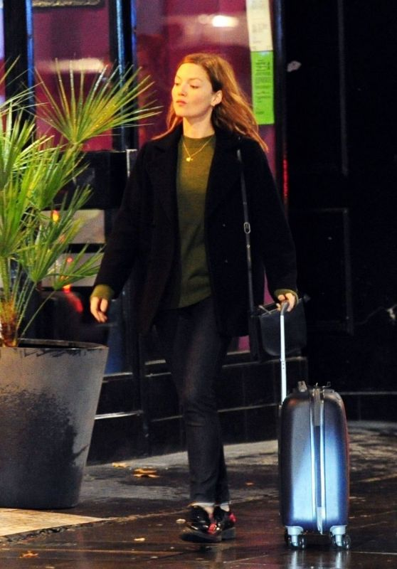 "Holliday Grainger - ""Capture"" Set in London 10/14/2019"