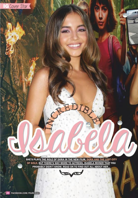 Isabela Moner - It GiRL Magazine November 2019 Issue