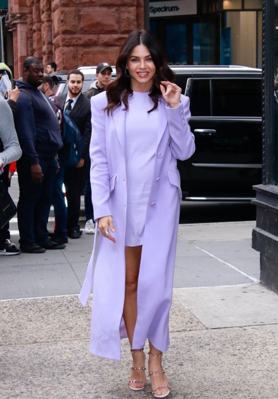Jenna Dewan Stops by BUILD Series in New York 10/22/2019
