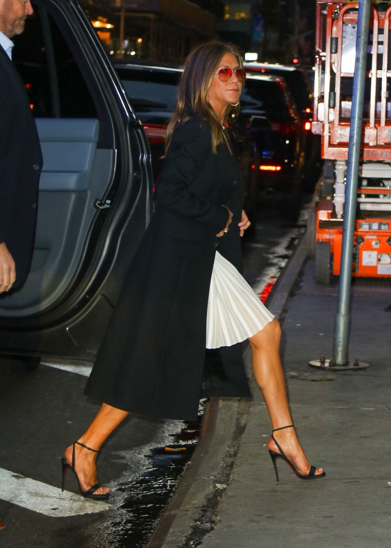 Jennifer Aniston - Arriving at GMA Show in NYC 10/28/2019