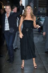 """Jennifer Aniston - Arriving at """"The Late Show with Stephen Colbert"""" in NY 10/29/2019"""