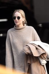 Jennifer Lawrence at Her New York City Apartment 10/18/2019