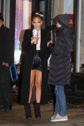 """Jennifer Lopez - Filming """"Marry Me"""" in Brooklyn 10/21/2019"""