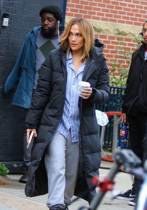 "Jennifer Lopez - ""Marry Me"" Set in NYC 10/10/2019"