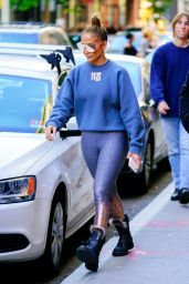 Jennifer Lopez - Shopping in Soho, New York 10/19/2019