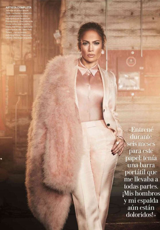 Jennifer Lopez - Woman Madame Figaro Spain November 2019 Issue
